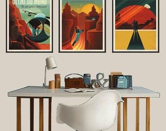 NASA prints Space art print Wall poster art Space Wall Art NASA art print space print universe art print space gifts planets art print