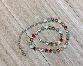 """Genuine Swarovski Crystal Necklace, """"Simply Stunning"""""""