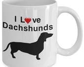 I Love Dachshunds Dachshu...