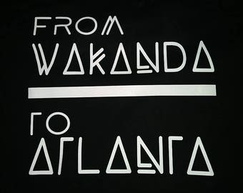 Black Panther - From Wakanda - Select Your City - Unisex Sizes