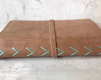 Leather journal refillable