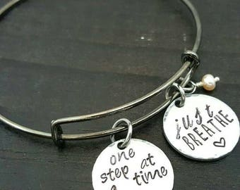 Hand stamped Made with love