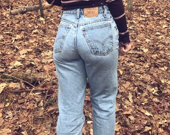 Levi Jeans - High Waisted Jeans - Mom Jeans - Boyfriend Jeans- 501 Levi Jeans - All Sizes - Vintage Jeans - Small - M