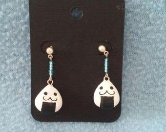 Happy Onigiri Earrings