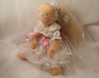 Anna, small bridal Waldorf 20 cm