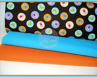Birds birds fabric Jersey fabric bundle Mijanistoffe