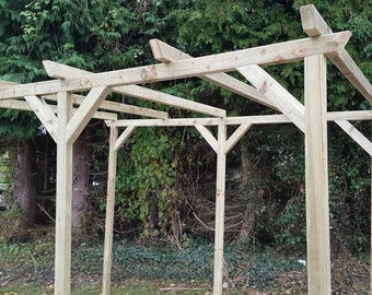 Garden Wooden Pergola