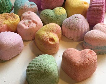 Mighty Mini Bath Bombs Grab Bag! Bag of seconds!