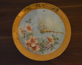 Vintage antique plate clock.