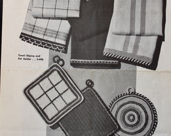 Towel Edging and Pot Holder