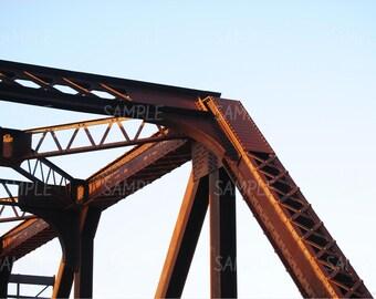 Bridge Photography Prints, Bridge Prints, Urban Wall Art, Urban Prints