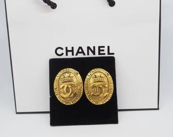 Chanel earrings vintage 1981