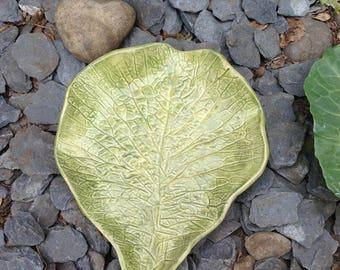 Cabbag Leaf Platter