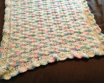 Crochet super soft baby blanket