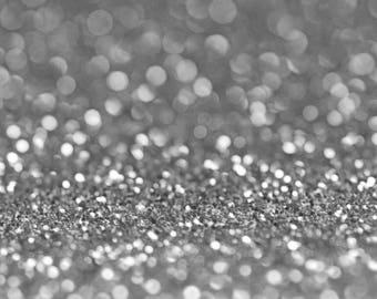 SILVER BIO GLITTER - Biodegradable Glitter - Festival Glitter-  Eco Friendly - Mermaid Glitter - Cosmetic Grade - Compostable - 375 microns