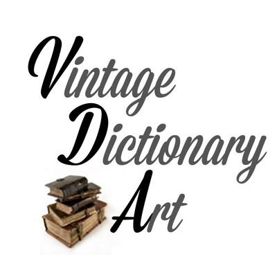 VintageDictionaryArt