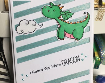 Get Well Card with Dragon