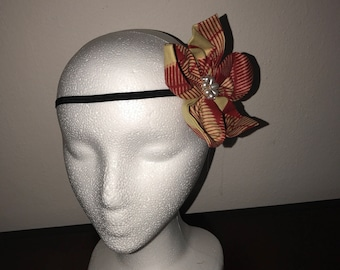 Fabric hair Flower (large)