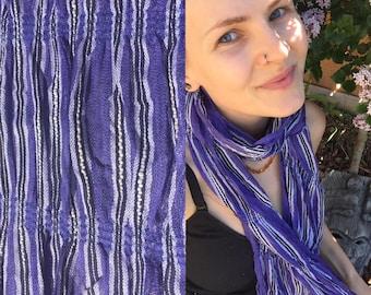Boho hippie summer festival scarf