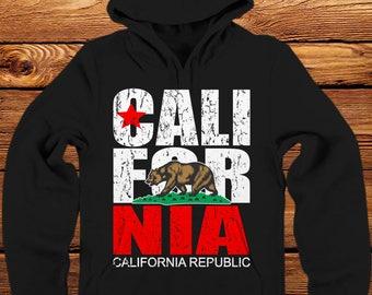 California Flag Hoodie