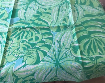 Lilly Pulitzer Leopard in the Jungle Printed Fabric