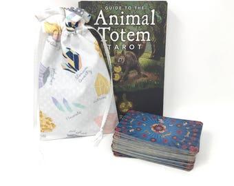 Crystal Tarot Bag, Tarot Pouch, Tarot Deck, Tarot Card Pouch, Tarot Card Holder, Tarot Deck Box, Runes, Runes Bag, Witchcraft, Wicca