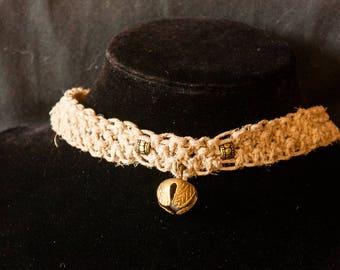 Cat Bell Choker Jewelry Drum Dance
