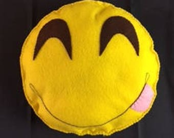 Emoji Felt Pillow
