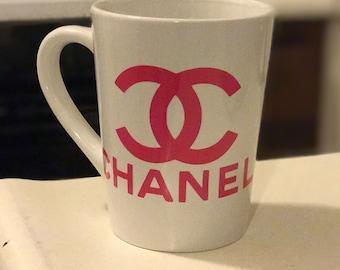 Chanel 14oz inspired mug cup coffee tea
