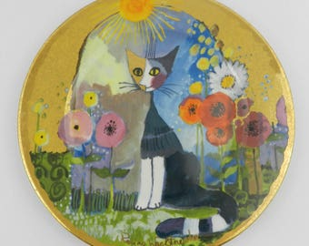 Collector plate - LUCE SOLAR by Rosina Wachmeister, Goebel, Germany