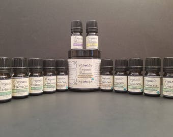 Essential Oils | certified organic, steam distilled | Bundle (12 Items) 5ml