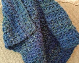 Handmade Crochet Baby Blanket - stroller size