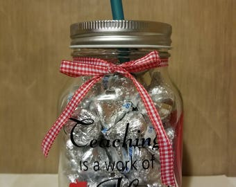 Teacher Mason Jar Gift