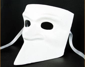 DIY Make Your Own Venetian Mask - Bauta