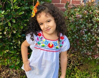 Girls mexican blouse 1- 8