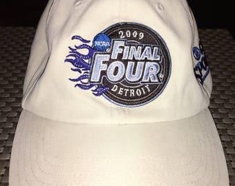 Vintage NCAA Final Four Detroit 2009 Strapback Hat