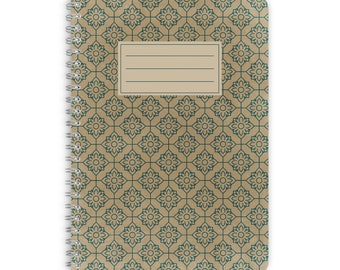 Note Pad A5 - FLOWER MOSAIC
