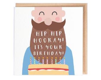 Hip Hip Hooray It's Your Birthday - Greeting Card - Birthday Card - Happy Birthday - Folio - thisisfolio