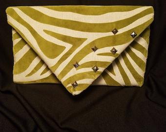 Zebra print Clutch Purse