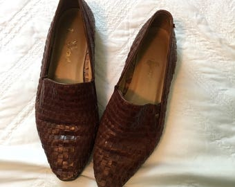 80s Hunt Club Loafers size 5.5