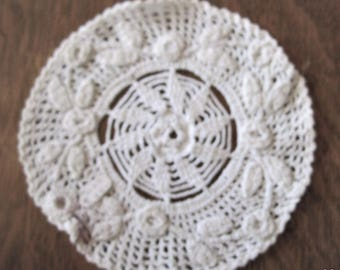Vintage Hand Crocheted Round Doilies