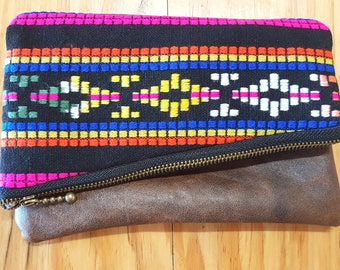 Country/Western Fold Over Clutch