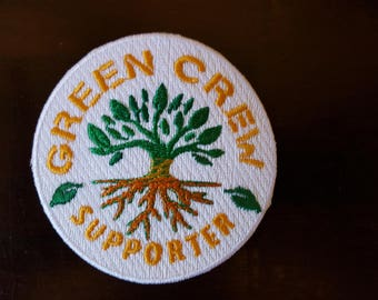 Phish Patch, Patch Green Crew Phish Recycle Program Patches, Support Green Crew, Tree Patch, Earth Day Patch, Earth Day Gift, Recycling Gift
