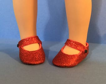 Sparkly shoe PATTERN for Wellie Wisher Dolls