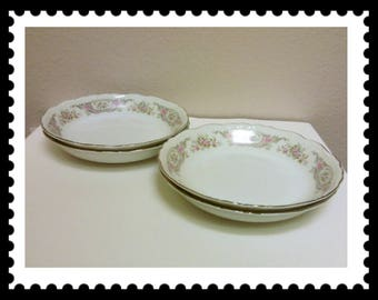 Style House Pompadour Soup Bowls, Set of 4