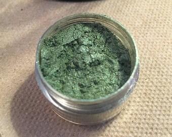 Evergreen- Dark Green Eyeshadow, Vegan & Cruelty Free!
