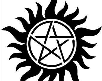 Supernatural Vinyl Decal Sticker