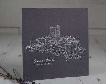 Illustration Wedding Invitation