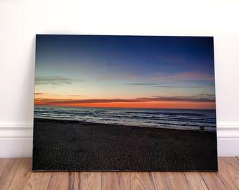 Sunset landscape II wall art canvas