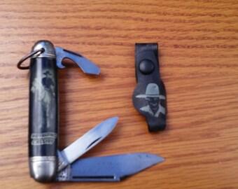 1950s Hopalong Cassidy Pocket Knife With Braclet